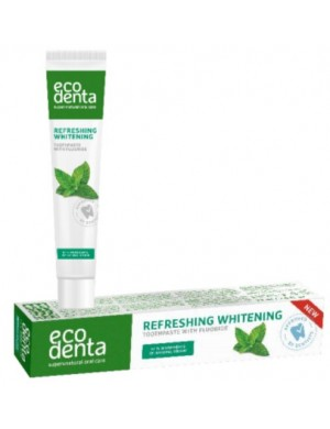 Wybielająca pasta do zębów z miętą pieprzową – Ecodenta