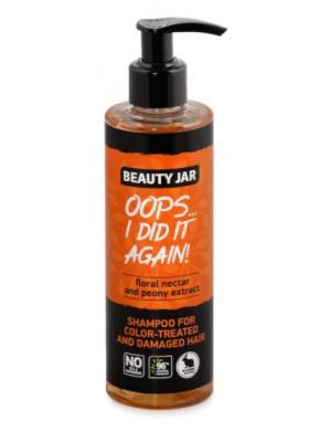 Szampon do włosów zniszczonych I farbowanych – Beauty Jar