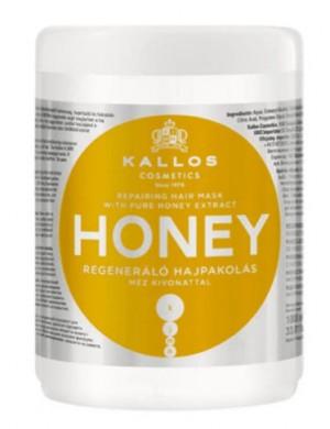 Miodowa Maska Regenerująca Do Włosów Honey – Kallos