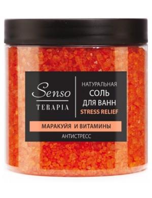 Musująca sól do kąpieli Stress Relief – SensoTerapia