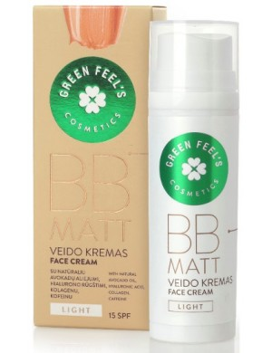 Krem BB Matt Light – Green Feel's