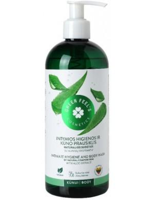 Płyn do higieny intymnej Ogórek I Aloes – Green Feel's
