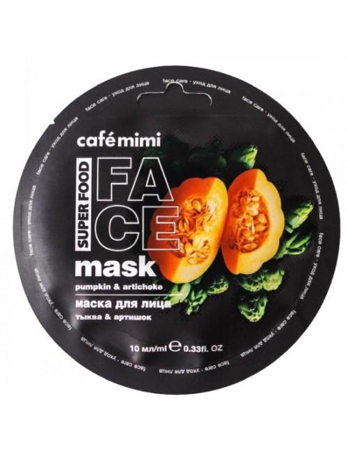 Maska do twarzy Dynia I Karczoch – Cafe Mimi Superfood