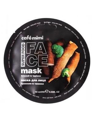 Maska do twarzy Brokuł I Tapioka – Cafe Mimi Superfood
