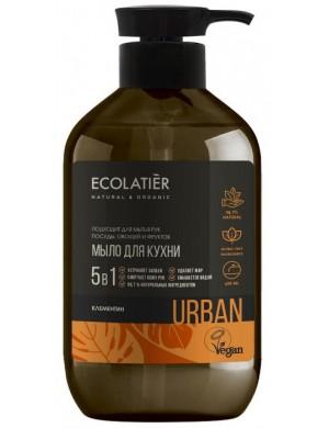 Mydło kuchenne do mycia naczyń, rąk I warzyw 5w1 Klementynka – Ecolatier