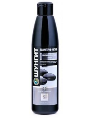 Szampon przeciw wypadaniu włosów Krzem I Szungit – Fratti