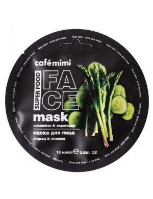 Maska do twarzy Ogórek I Szparagi – Cafe Mimi