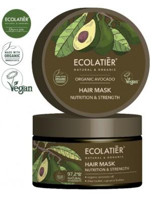 Odżywcza Maska do Włosów z Avocado – Ecolatier