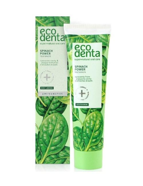 Pasta do zębów ze szpinakiem – Ecodenta