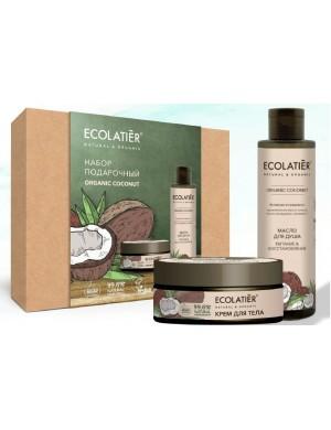 Zestaw Kokosowy Olej Do Kąpieli I Krem do Ciała – Ecolatier