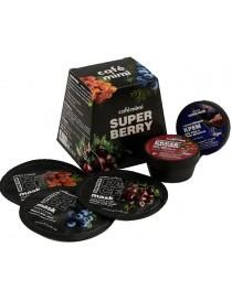Zestaw kosmetyków Super Berry – Peeling, 3x Maska, Krem – Cafe Mimi