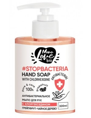 Antybakteryjne mydło do rąk z chlorheksydyną Grejpfrut – MonoLove Bio