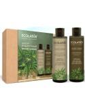 Zestaw kosmetyków – szampon I balsam do włosów Cannabis - Ecolatier