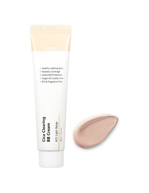 Krem do twarzy Cica Clearing BB Cream 21 Light Beige – Purito