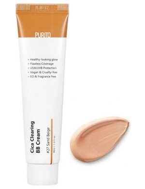 Krem do twarzy Cica Clearing BB Cream 27 Sand Beige – Purito