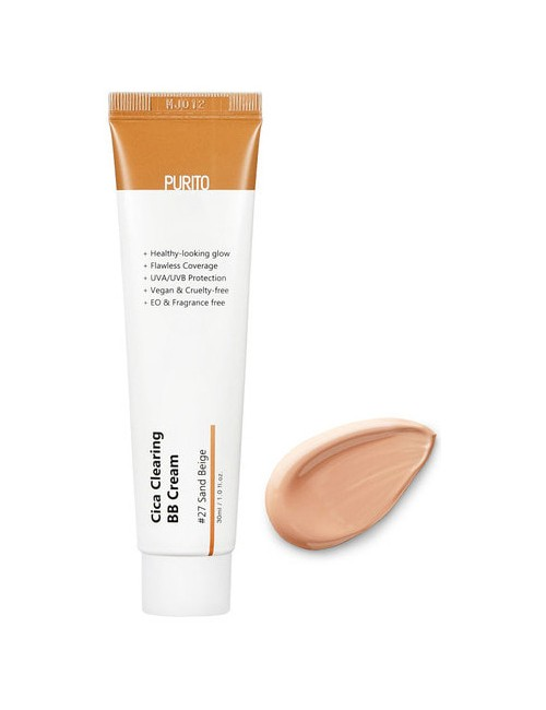 Krem do twarzy Cica Clearing BB Cream 27 Sand Beige – Purito