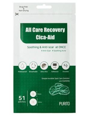 Plasterki na wypryski All Care Recovery Cica-Aid – PURITO