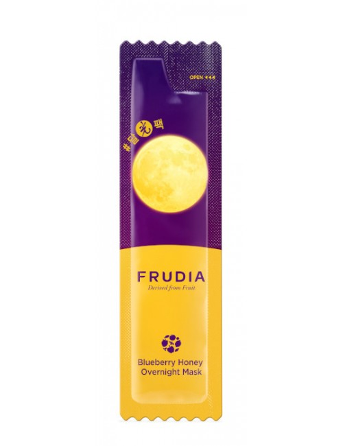 Maska na noc do twarzy Blueberry Honey Mask – FRUDIA