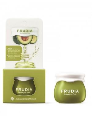 Odżywczy krem do twarzy Avocado Relief Cream 10g – FRUDIA