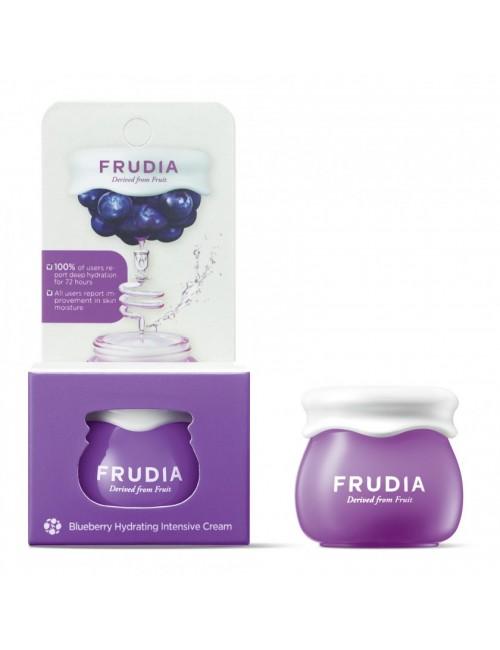Nawilżający krem do twarzy Blueberry Hydrating Intensive Cream 10g – FRUDIA