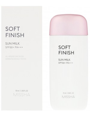 Ochronne Mleczko SPF50 All Around Safe Block Soft Finish Sun Milk – Missha