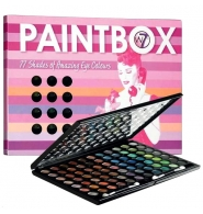 W7 Paintbox - Paleta 77 cieni do powiek