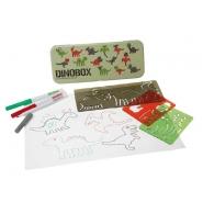DinoBox – Kreatywne szablony do rysowania – dinozaury
