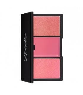 Sleek MakeUP Blush by 3 - Paleta róży do policzków - Pink Lemonade