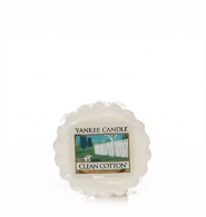 YANKEE CANDLE Wosk zapachowy - Clean Cotton