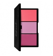 Sleek MakeUP Blush by 3 - Paleta róży Sweet Cheeks