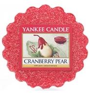 YANKEE CANDLE Wosk zapachowy Żurawina i Gruszka - Cranberry Pear