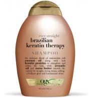 Organix Ogx Wygładzający szampon z keratyną Brazilian Keratin Therapy