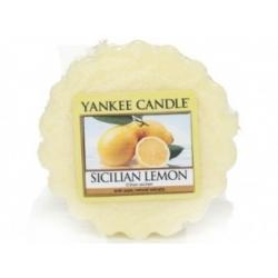 YANKEE CANDLE Wosk Sicilian Lemon