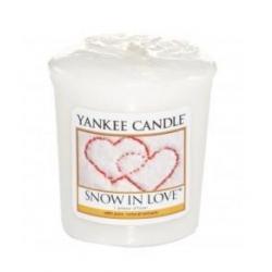 YANKEE CANDLE Świeca zapachowa (sampler) Snow in Love