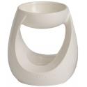 YANKEE CANDLE Kominek do wosków zapachowych Turning Stone (biały)
