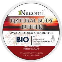 Nacomi Balsam z masłem shea i olejem arganowym - Zielona herbata