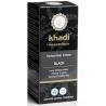 khadi Henna do włosów ciemnych - Black