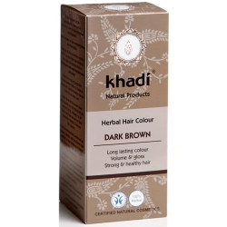 khadi Henna do włosów - Dark Brown