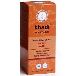 khadi Ziołowa farba do włosów - Orzechowy brąz (Hazel)
