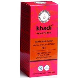 khadi Henna do włosów z amlą i jatrophą - Red