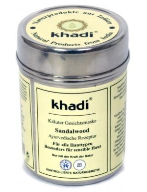 khadi Maseczka sandałowa Herbal Face Mask Sandalwood