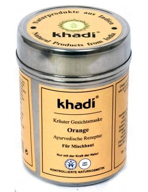 khadi Pomarańczowa maseczka oczyszczająca