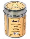 khadi Pomarańczowa maseczka oczyszczająca Herbal Face Pack Orange