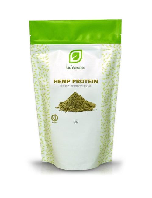 Intenson Proteiny konopii (białko w proszku) Hemp Protein