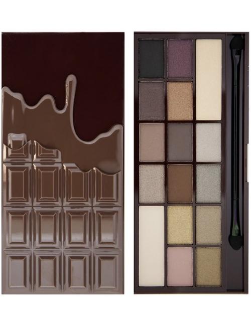 I Heart MakeUP Paleta cieni do powiek Death by Chocolate