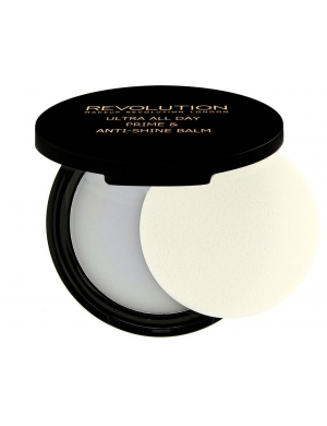 Makeup Revolution Wygładzająca baza matująca Ultra All Day Prime & Anti-shine Balm