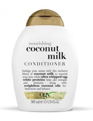 Organix Ogx Coconut Milk Conditioner - Odnawiająca odżywka z mlekiem kokosowym