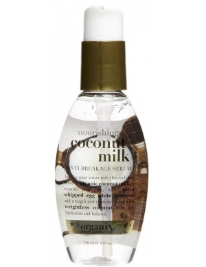 Organix Ogx Coconut Milk Serum - Odżywcze serum wzmacniające