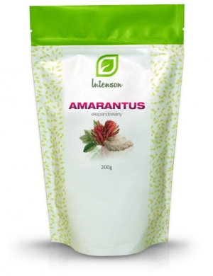 Intenson Amarantus ekspandowany 200g