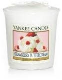 YANKEE CANDLE Świeca zapachowa Strawberry Buttercream - sampler